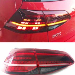 Оригинальный светодиодный задний Led фонарь Фольксваген VW для Golf 7 /7,5 GTI