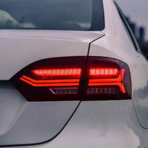 Задняя LED оптика c бегающим поворотником VOLKSWAGEN JETTA 2011-2015 в стиле Audi
