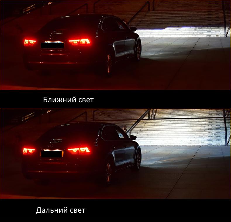 Передняя LED оптика Фары для Фольксваген Passat B7 2011-2015 USA