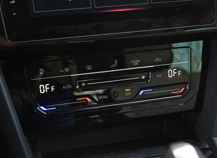 Сенсорная ЖК -панель климат контроля для Volkswagen MQB Golf 7, Passat B8, Jetta 7, Tiguan NF